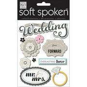 Soft Spoken Themed Embellishments-everla