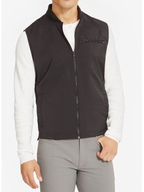 Reaction Kenneth Cole NEW Black Mens Size XL Dry Stretch Vest Jacket