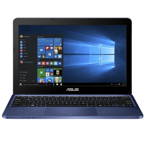 "ASUS Dark Blue 11.6"" VivoBook E200HA-US01 Laptop PC with Intel Cherry Trail Z8300 Processor, 2GB Memory, 32GB eMMC Drive and Windows 10 Home"