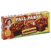 Little Debbie Family Pack Fall Party Cakes Chocolate Snack Cakes, 12.22 oz