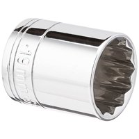 SK Hand Tool 2319 12 Point 19mm Standard Drive Socket, 3/8-Inch, Chrome