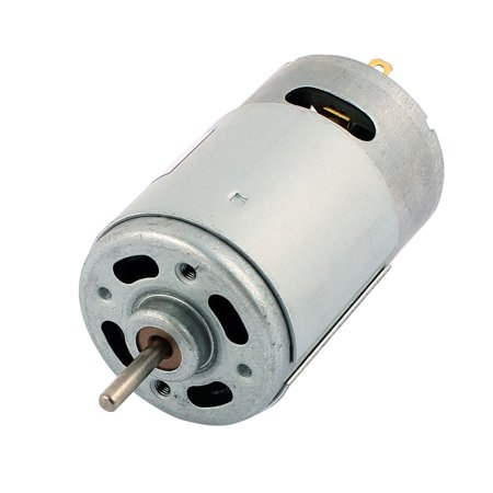 R555 DC 24V 3000R/Min Cylindrical Miniature Electric Tool Magnetic Motor ()