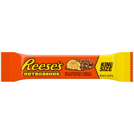 Reeses? King Size Nutrageous Candy Bar 3.1 oz. Wrapper