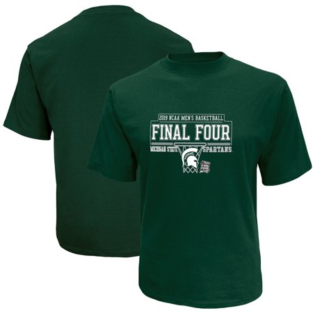 Michigan State Spartans Basketball - Michigan State Spartans Russell 2019 NCAA Men's Basketball Tournament March Madness Final Four Bound T-Shirt - Green