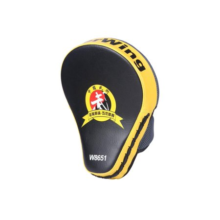 Cheerwing PU Leather MMA Boxing Mitt Punching Mitt Target Focus Punch Pad Training Glove For Karate Muay Thai (Karate Mitts)