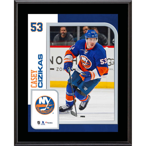 "Casey Cizikas New York Islanders 10.5"" x 13"" Sublimated Player Plaque - No Size"