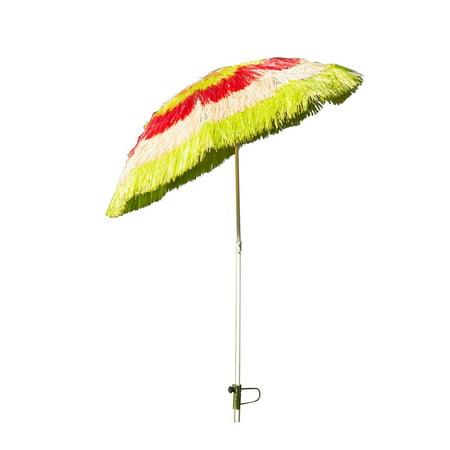 Tiki Beach Outdoor Umbrella - Adjustable and Lightweight - multicolour - image 3 of 7