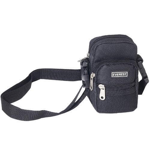 Everest Trading CM5D-BK 6'' Camera Bag with Detachable Shoulder Strap