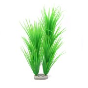 "17.3"" Long Aquarium Aquatic Simulation Plastic Plant Grass Lawn Decoration Green"