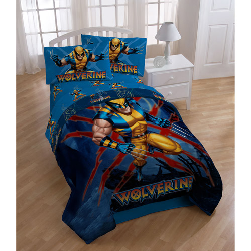 Marvel X-Men Wolverine Bedding Sheet Set, Twin