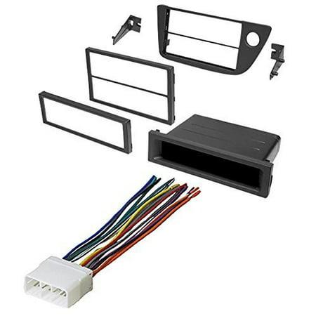 2002 - 2006 acura rsx car stereo radio dash installation ... walmart car stereo wiring harness kenwood kdc 152 car stereo wiring harness diagram