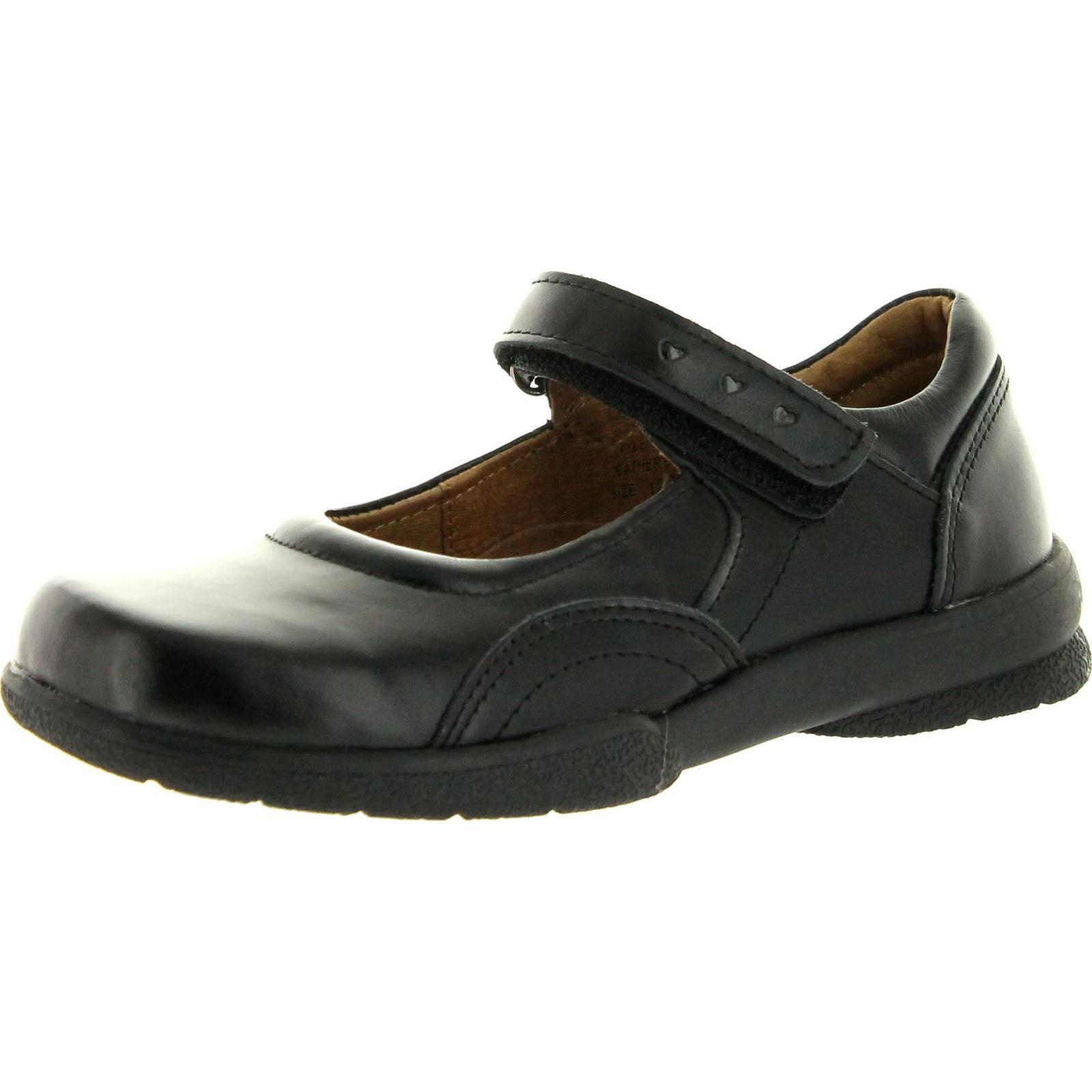 Angels Girls Flats Casual Mary Jane Flats Girls Shoes, Black., 13.5 a29b99