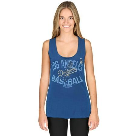 Los Angeles Dodgers 5th   Ocean by New Era Women s Slub Jersey Raw ... a1acc77ec3d