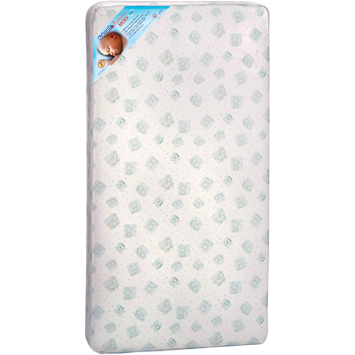 Kolcraft Pediatric 800 Crib and Toddler Mattress