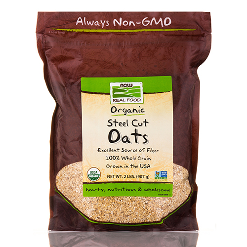 NOW� Real Food - Oats (Steel Cut) - 2 lbs (907 Grams) by NOW