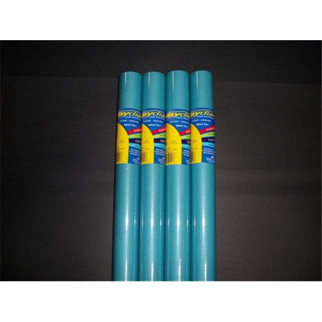 RiteCo Raydiant 80197 Riteco Raydiant Fade Resistant Art Rolls Turquiose 48 In. X 50 Ft. 4 Pack