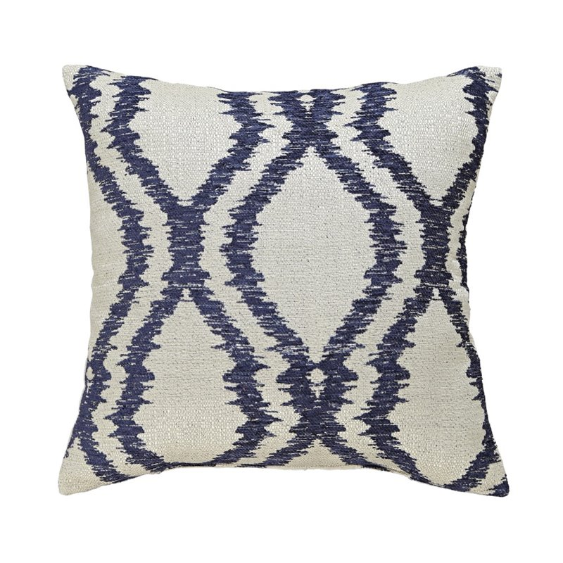 Ashley Estelle Throw Pillow in Blue (Set of 4) by Ashley Furniture