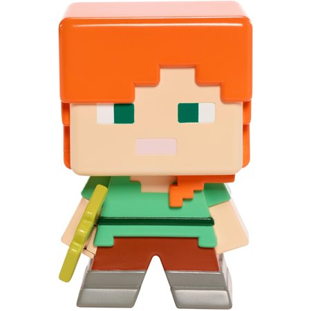 Minecraft Mega-figures Alex with Golden Pick Axe