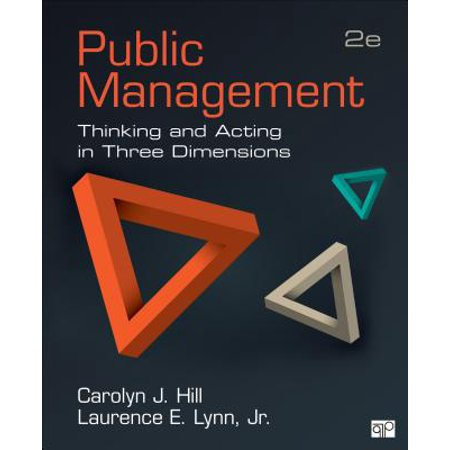 Public Management; Thinking and Acting in Three