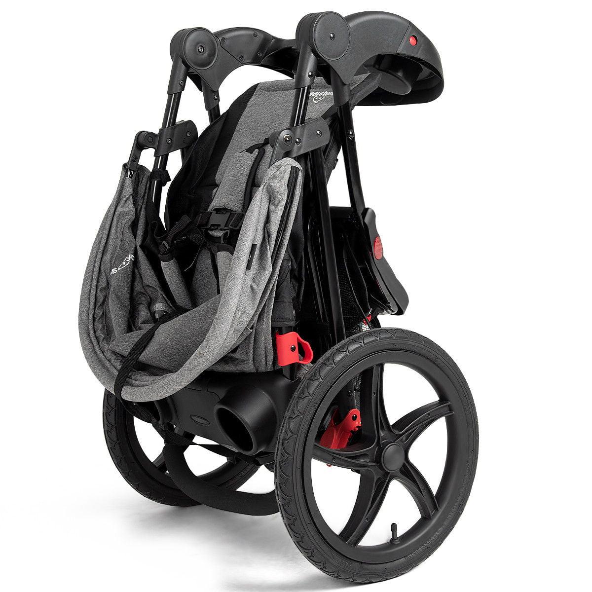 Foldable Lightweight Infant Baby Stroller Jogger All ...