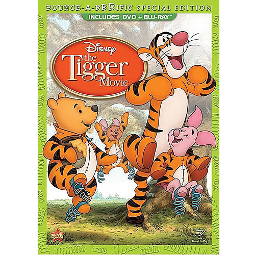 The Tigger Movie: Bounce-A-Rrrific Special Edition (DVD   Blu-ray   Family Tree Activity Poster) (Widescreen)