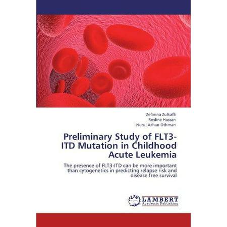 Preliminary Study of Flt3-Itd Mutation in Childhood Acute Leukemia - image 1 de 1