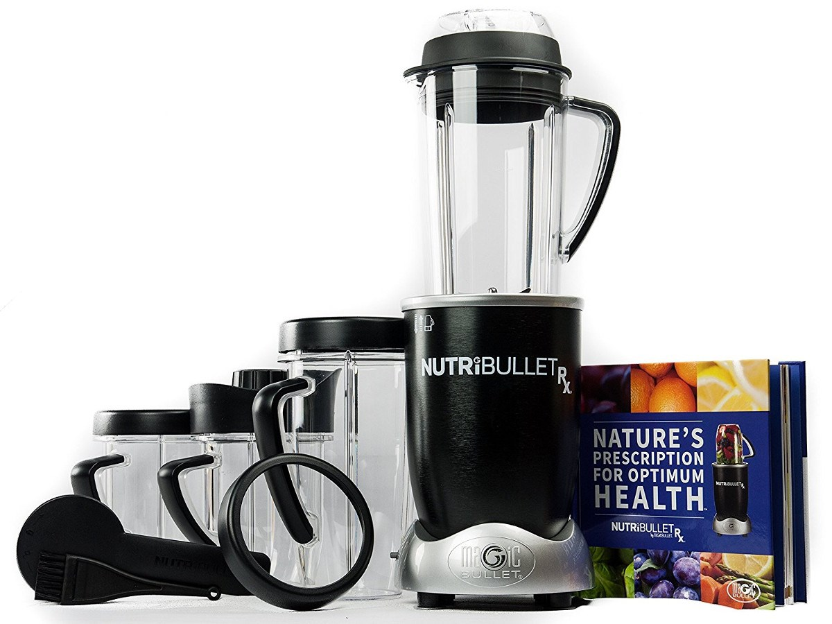 NutriBullet RX with Heating Function for Soups & Sauces (New Model) by Nutribullet