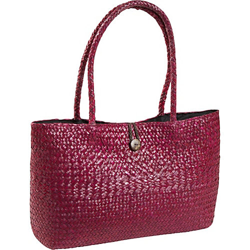 Magid Seagrass Straw East/west Button Tote