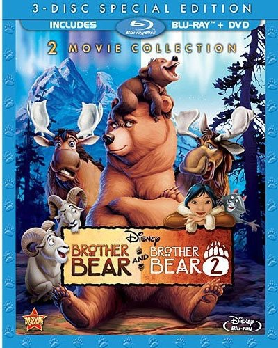 Brother Bear / Brother Bear 2 (Blu-ray + DVD)