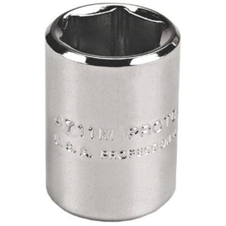 "Torqueplustm         Metric Sockets 1/4 in - skt 1/4 dr 11mm 6 pt, Sockets, 1/4"", Metric, 11 mm"