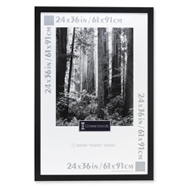 The Burns Group Poster Frames- Hangs Vertically-Horizontally Ebony BK