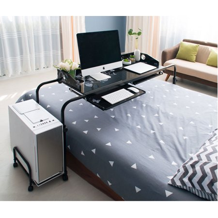 Height Adjule Mobile Overbed Table 55 Laptop Cart