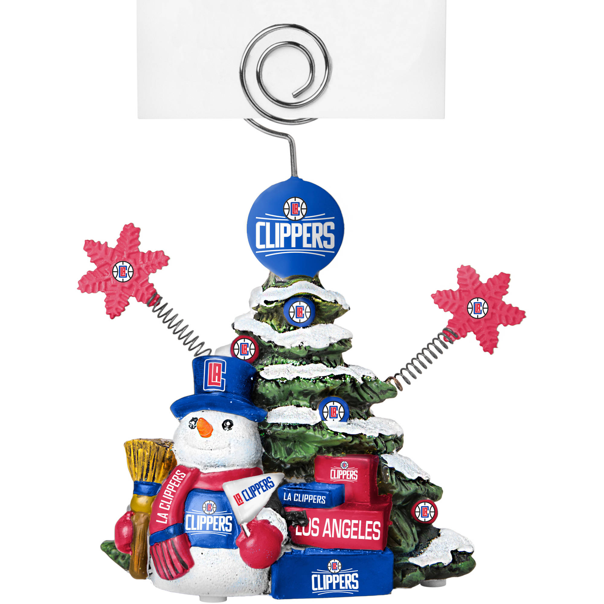Topperscot by Boelter Brands NBA Tree Photo Holder, Los Angeles Clippers