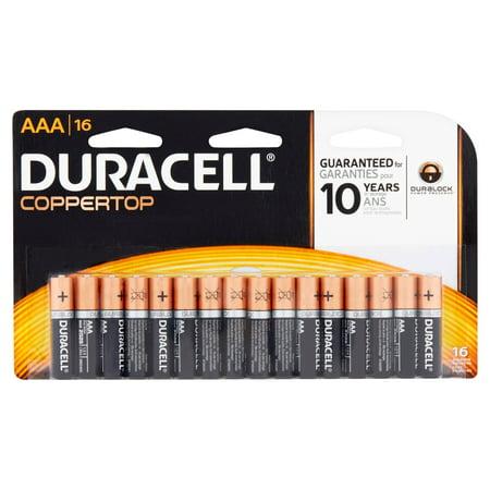 Duracell Coppertop Alkaline Aaa Batteries  16 Ct