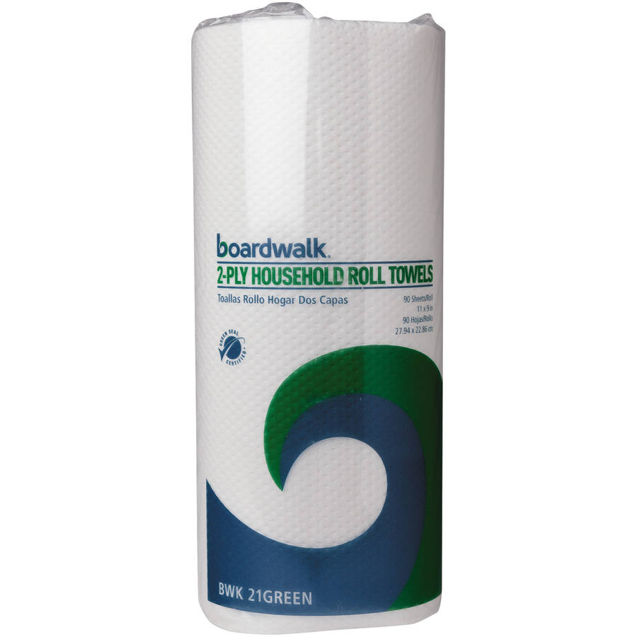 Boardwalk Green 2-Ply Paper Towels, 90 sheets, 30 rolls