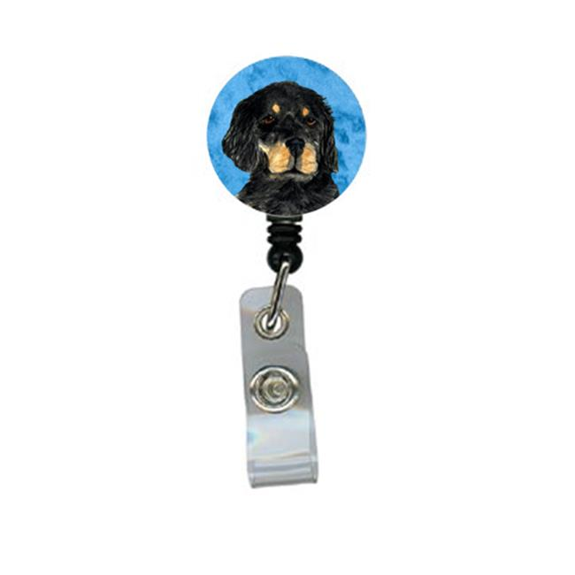 Carolines Treasures SS4791-BU-BR Gordon Setter Retractable Badge Reel Or Id Holder With Clip - image 1 of 1
