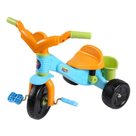 Virhuck My First Super Rider Trike Tricycle Bike Bicycle Trike Scooter for Children Kids