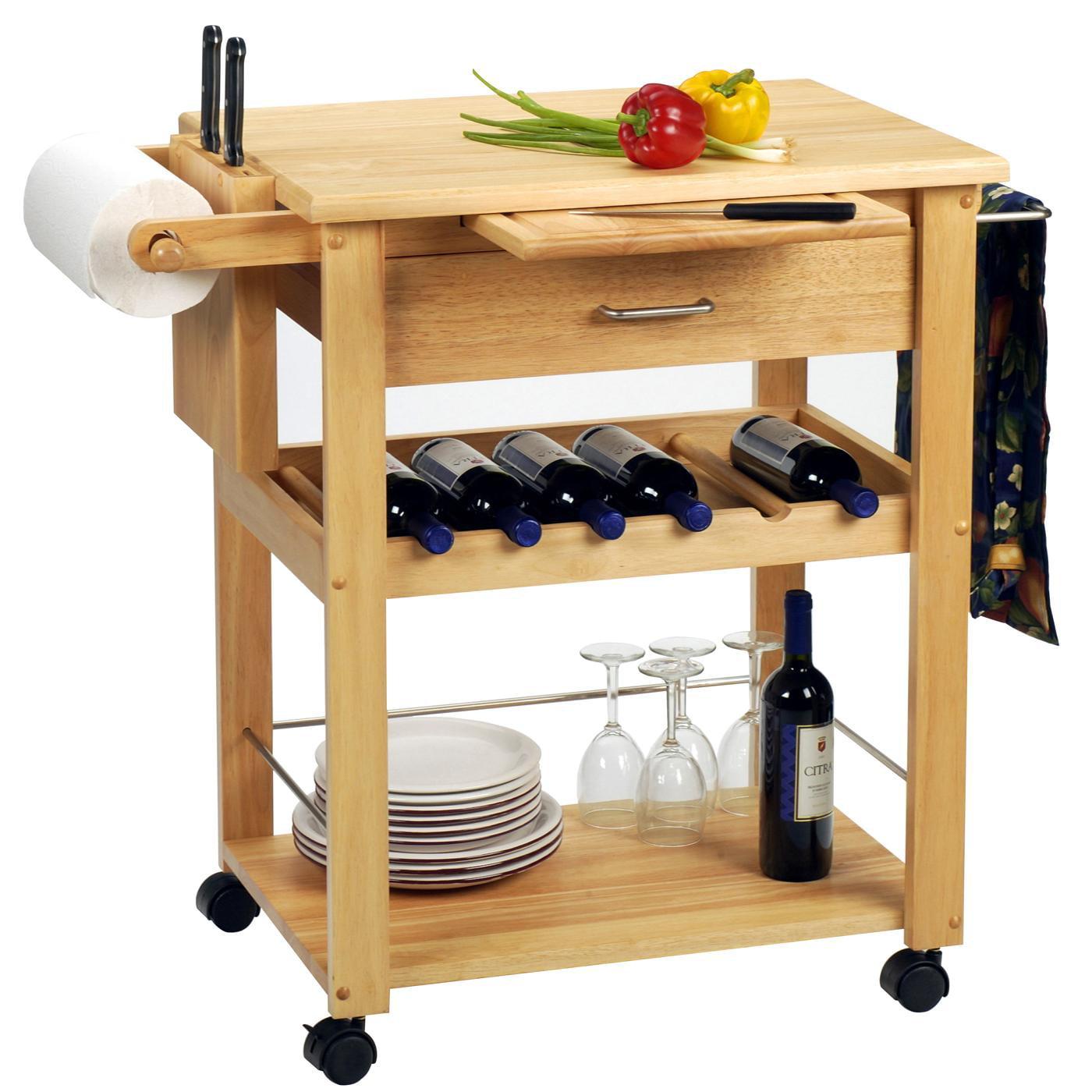 Deluxe Kitchen Cart - Walmart.com