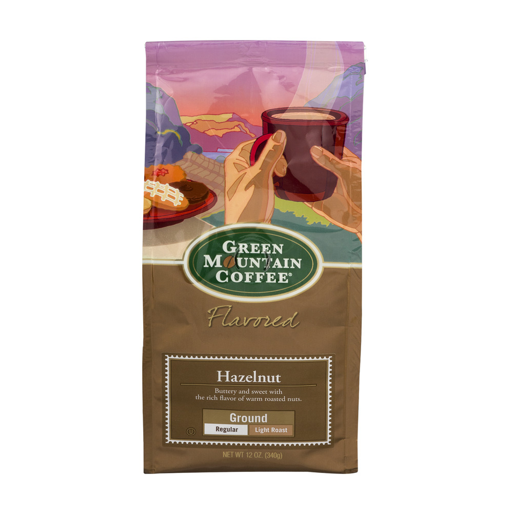 Green Mountain Coffee Hazelnut Light Roast, 12.0 OZ