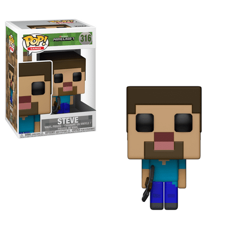 FUNKO POP! GAMES: Minecraft - Steve (Steve Head)