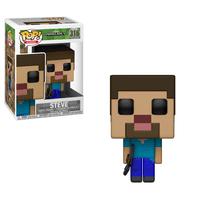 FUNKO POP! GAMES: Minecraft - Steve