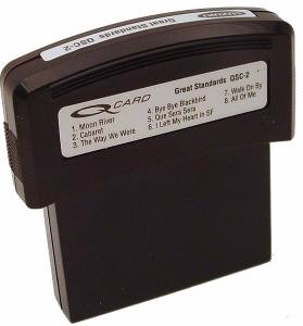 Great Standards QCard Song Cartridge (for use with the QChord), Use with the Suzuki QChord... by