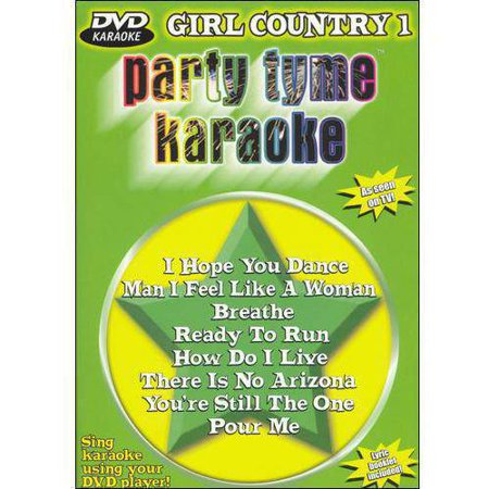 Party Tyme Karaoke: Girl Country - Volume 1 (Music DVD)