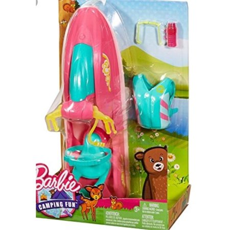 Barbie Camping Fun On the Go Water Craft Doll Craft Supplies