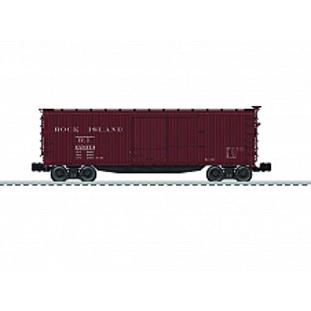 Lionel 6-83349 O Rock Island Double Sheath Boxcar
