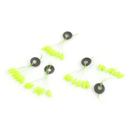 unique bargains 6 in 1 2# Fishing Floaters Bobbers 10mm Long 5 Pcs - image 3 of 3