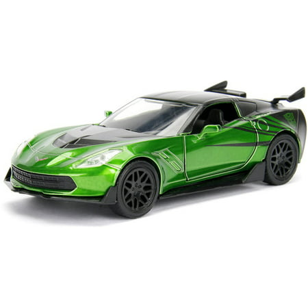 1:32 Transformers diecast vehicle 5 - CHEVY CORVETTE