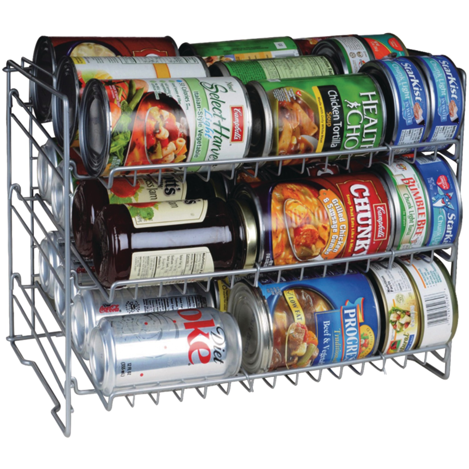 Atlantic Canrack Kitchen Organizer (single,3 Tier)