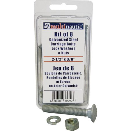 - Manufacturers Direct 10200 Galv Nuts N Bolts Kit