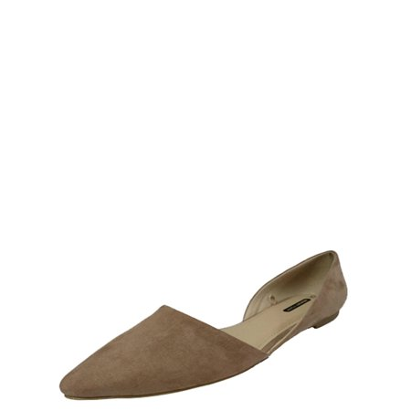 75ad9ca36ea6 Time and Tru - Time and Tru Women s Point Ballet Flat - Walmart.com